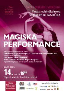 BALETA PASAULES NOSLĒPUMI. Giljermo Betankūra projekts/performance @ Rīgas Latviešu biedrība