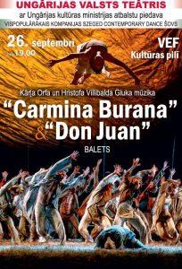 CARMINA BURANA & DON JUAN. Ungārijas Valsts teātris @ VEF Kultūras pils