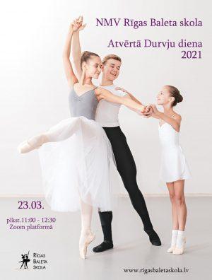 Atvērto durvju diena Rīgas Baleta skolā @ Zoom platforma