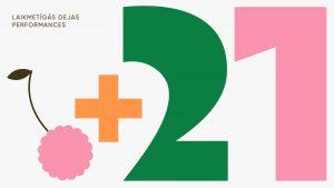 """Laikmetīgās dejas performances """"+21"""". Rīgas vasara 2021 @ LKA Eduarda Smiļģa Teātra muzejs"""