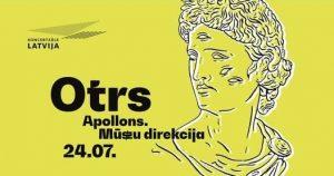 """Mūzikas un skatuves mākslas pieredzējums """"Apollons. Mūszu direkcija"""" @ Koncertzāle """"Latvija"""""""