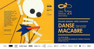 """Skaņas un kustības izrāde """"Danse Macabre / Nāvesdeja"""" @ Laikmetīgās mākslas centra pagalms"""
